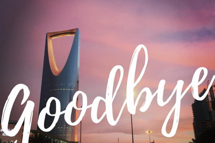 We're Leaving Saudi Arabia | Starry-Eyed Pragmatist