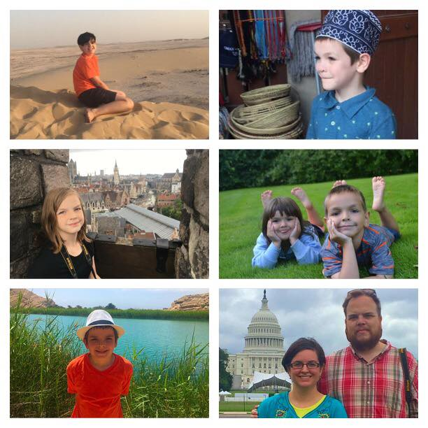 The Stroud family in Qatar, Oman, Luxembourg, Denmark and the US. | Starry-Eyed Pragmatist