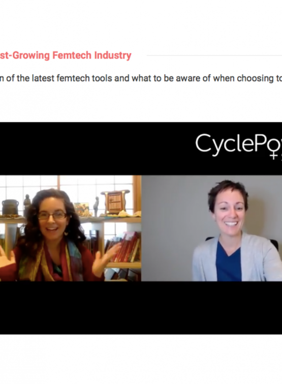 Cycle Power Summit interview of Tami Stroud about Femtech